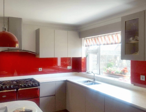 Glass Splashbacks for Range Cookers